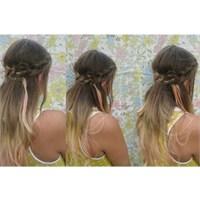 Hippi Saç Örgüsü Modeli Nasıl Yapılır.