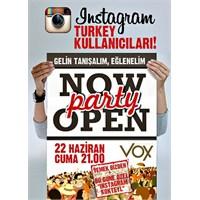 Vox Brasserie'den İnstragram Partisi