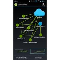 Open Garden İle Telefondan İnterneti Paylaşın