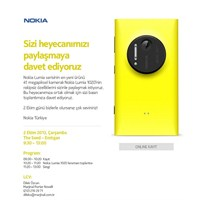 Nokia Basın Daveti Nokia Lumia 1020 Lansmanı
