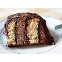 Harika İki Renkli Bisküvi Pasta Nasıl Yapılır
