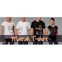 Matrak T-shirt Sevgili T-shirtleri