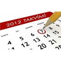 2012 Yılında Yaşanan Önemli Olaylar