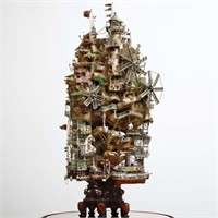 Takanori Aiba'nın Sanatsal Maketleri