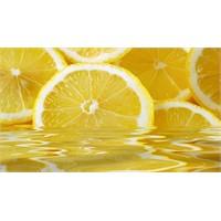 Limon Suyu Karın Yağlarına İyi Gelir!