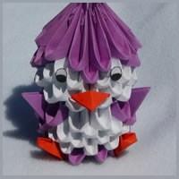 Origami İle Penguen Yapın