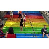 Dünyadan Renkli Merdivenler