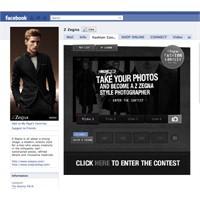 Z Zegna Defilesi Ve Ödüllü Facebook Uygulamasi