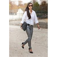Trend: Metalik Pantolonlar