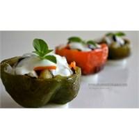 Sebzeli, Biber Dolması Salatası