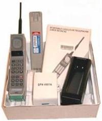 İlk Cep Telefonu