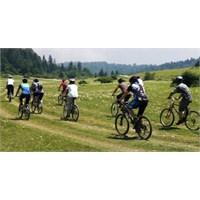 Dağ Bisikleti Sevdalıları Durmak Nedir Bilmiyor