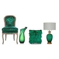 Dekorasyonda 2013 Yılının Trend Rengi- Zümrüt Yeşi