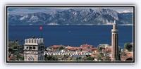 Antalya nın Kalesi - Kale İçi Ve Yat Limanı