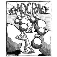 Verilen Özgürlük Ve Sınırsız Demokrasi