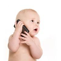 Ağlayan bebeğe cep telefonu vermeyin!