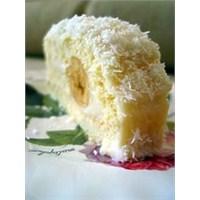Hindistan Cevizli Muzlu Pasta