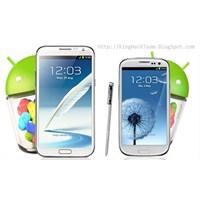 Samsung Galaxy S3 Ve Note 2' Ye Güncelleme Müjdesi