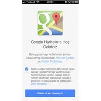Google Maps İphone Ve İpad Uygulaması Çıktı