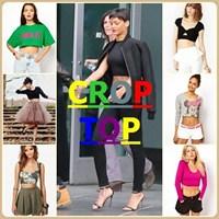 Crop Top - Kısa Bluzler !
