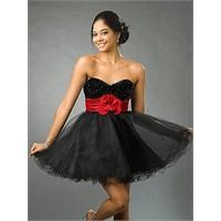 Siyah Abiye Elbise Modelleri-2