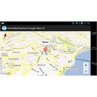Actionbarsherlock İle Google Maps Android Api 2...