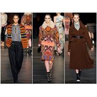 Etro 2011 - 2012 Sonbahar Kış Kadın Kıyafetleri