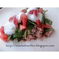 Mantarlı Semizotu Salatası (Çılgın Eleni)