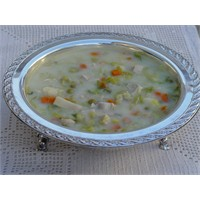 Tavuklu Pırasa Çorbası - Yogurtkitabi.Com