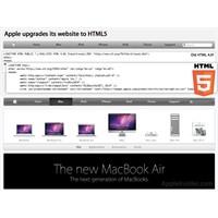 Apple Web Sitesini Html5'e Geçirdi
