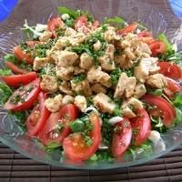 Soya Soslu Tavuk Salatası Tarifi