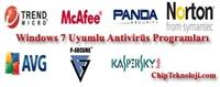 Windows 7 İçin Antivirüs Programları