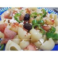 Makarna Salatası İzmirdenlezzetler
