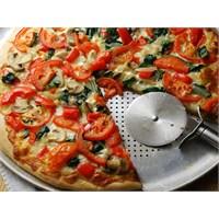 Domatesli Mantarlı Pizza