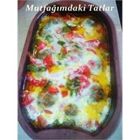 Kiremitte Kaşarlı Köfte( Mutfak Ve Tatlar)