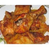 Fırında Soslu Tavuk Yapılışı Ve Malzemeleri