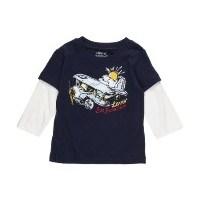 Levi's Erkek Bebek İçin Uzun Kollu Body, Gömlek, T
