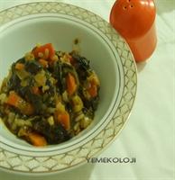 Zeytinyağlı Ispanak Yemeği Tarifi