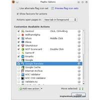 Mozilla Firefox Sunucu Bilgileri Eklentisi:flagfox