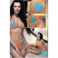 2012 Yılı Bikinileri Örgü Bikini Modelleri