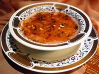 Domatesli Tarhana Çorbası