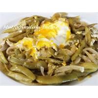 Yumurtalı Taze Fasulye Kavurması Mutfak Ve Tatlar