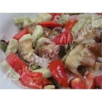 Köz Patlıcanlı Salata