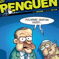 Penguen'in Kapağında Erdoğan Ve Gülen Var