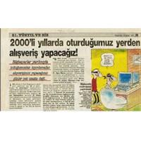 22 Yıl Öncesinin Gazete Haberi Ve İnternet!