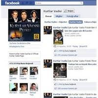 Kurtlar vadisi facebook rekor kırıyor