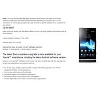 Sony Xperia S İçin 4.1.2 Güncellemesini Duyurdu...