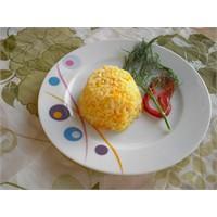 Bulgurlu Havuçlu Pirinç Pilavı