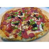 Ev Yapımı Çıtır Pizza