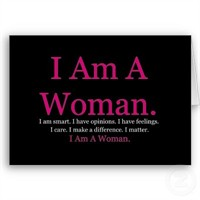 Thank Goodness: I'm A Woman